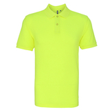 Asquith & Fox Men's Neon Polo Shirt