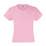 Fruit of the Loom Girls Valueweight T-shirt