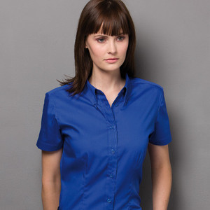 dafa4bfea Qtag Home » Shirts » Womens Shirts » Kustom Kit Ladies Corporate Short  Sleeve Oxford Shirt · «