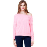 Bella Flowy Off Shoulder Long Sleeve T-Shirt