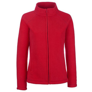 Fruit Of The Loom Lady-Fit Fleece Jacket - Fruit Of The Loom Lady ...
