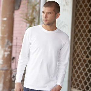 d62dbf52 Qtag Home » T-Shirts » Mens Long Sleeve T-Shirts » Fruit of the Loom Super  Premium Long Sleeve T-Shirt