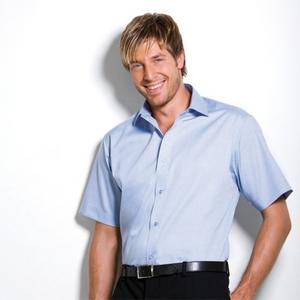 56ac6d1a35a Qtag Home » Shirts » Mens Shirts » Kustom Kit Men s Executive Premium  Oxford Short Sleeve Shirt · «